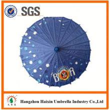 Custom OEM/ODM, papier d'impression promotionnelle et parapluies en bambou