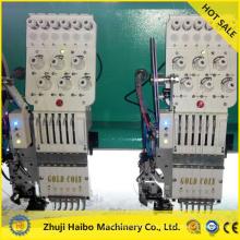 máquina plana del bordado de máquina plana del bordado de venta con máquinas de bordado plano de 15 cabezas
