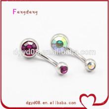 Joyería al por mayor del anillo del vientre de la joyería del anillo del ombligo de la manera de la joyería