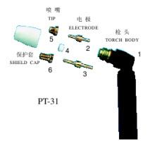 Projets de soudage (Air Plasma Parts PT31)