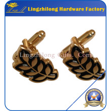 Fashion Jewelry Mens accessory Gold Cufflink