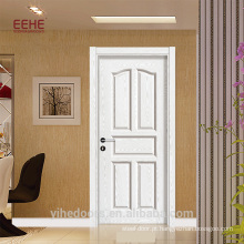 Design de porta de casa de banho em casa de moda PVC