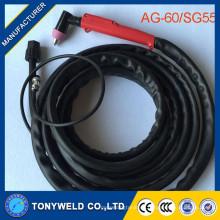 Antorcha de plasma de la máquina AG60 SG55 antorcha completa del plasma