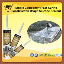 Single Component Fast Curing Construction Usage Silicone Sealant