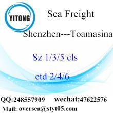 Penggabungan LCL Pelabuhan Shenzhen Kepada Toamasina