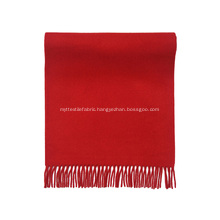 Pure Color Woolen Cashmere Scarf