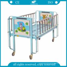 CE a approuvé un lit d'enfant d'hôpital de manivelle (AG-CB003)