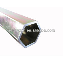 hexagonal shape seamless steel tube
