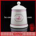 Customized tea coffee sugar storage jar canister