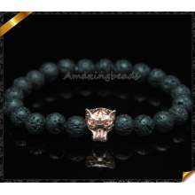 Natural Lava Stone Beads Bracelets for Women (CB097)