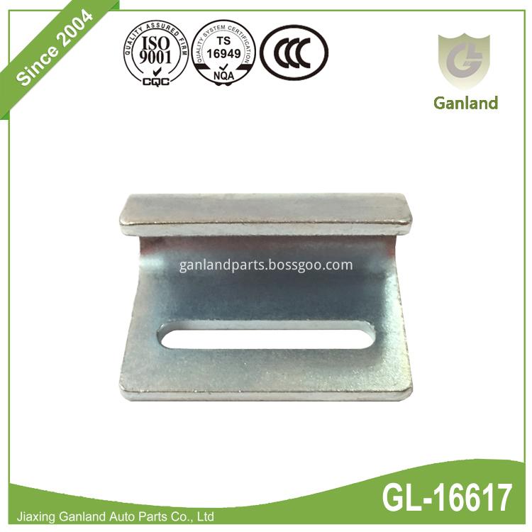 Flat Pressed Steel Hook GL-16617