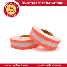 High visibility flame retardant reflective tape
