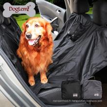Couverture imperméable portative de siège de voiture de chien couverture de voyage de polyester d'animal familier