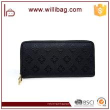 Bolsa de embreagem de senhoras de carteira de couro de mulheres de moda nova elegante