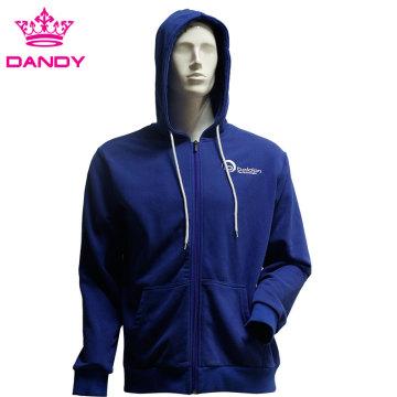 Royal blue cotton jackets