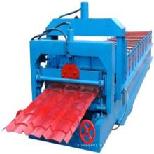 Rolo da folha da telhadura de PPGI que forma o preço da máquina
