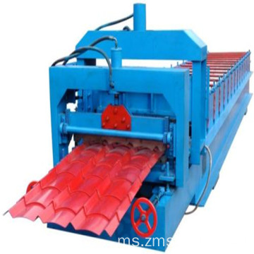 PPGI Roofing Sheet Roll Forming Machine Form