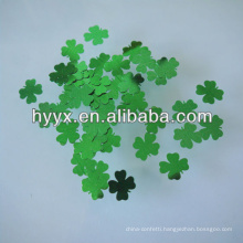 Lucky Four Leaf Clover Sequins/Confetti Decoration