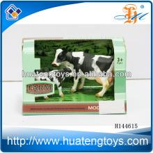 Simulación de animales de granja conjunto de dinosaurios de PVC juguetes de dinosaurio jugar juguetes de vaca conjunto H144615