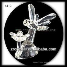 Bonita estatuilla de animales de cristal A112