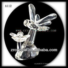 Belle figurine en cristal A112