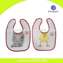 Super absorbent soft safe material triangle baby bib