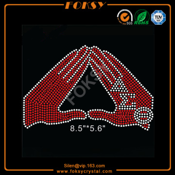 Delta Sigma Theta for life iron on bling transfers