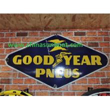 Sunboat Enamel Advertisement Board/ House Number Board