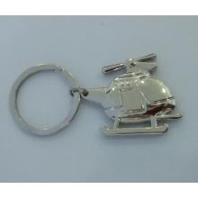 Werbe-Metall Zin Legierung Air Plane Form Schlüsselanhänger (F1382)