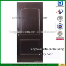 Fangda exterior steel apartment building entry doors