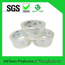 BOPP Acrylic Box Packing Tape OEM Custom Logo Printed Clear Tape