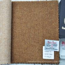 tecido de tweed design liso áspero