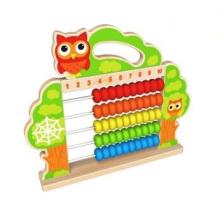 Nouveau jouet en bois de perle d'abacus de perle en bois pour des enfants et des enfants