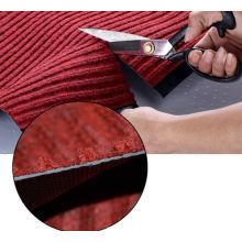Atacado personalizado impresso shaggy 100% poliéster tapete de porta