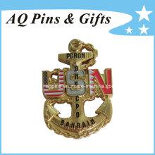 Moedas comemorativas do ouro da promoção do costume (coin-076)