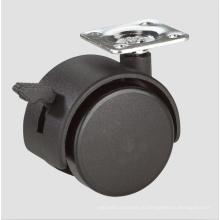 1.6-дюймовый Домашняя мебель стулья Рицинус колеса с тормозом