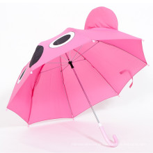Main ouverte PVC parapluie enfant bon marché avec logo