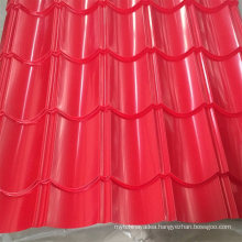 Fashion Colors Zinc Corrugated Galvanized Steel Roofing Sheet for Building