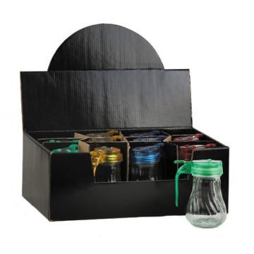 Bouteille de pétrole et de vinaigre avec bouteille à condiments en verre à condiments