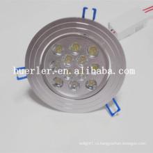 Huerler освещение производитель 12w современные потолочные светильники