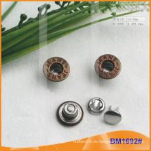 Metallknopf, kundenspezifische Jean-Knöpfe BM1692