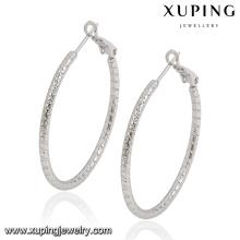 91682 venden al por mayor el pendiente hecho a mano del aro de la moda de Xuping
