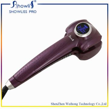 Top Sale tela LCD tela automática de cabelos curling ferro