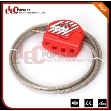 Elecpopular Best Products Verrouillage de la vanne de sécurité réglable Mini câble de verrouillage