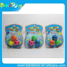 Rubber football high bouncing ball