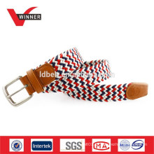 OEM gewebte Seil elastischen geflochtenen Gürtel