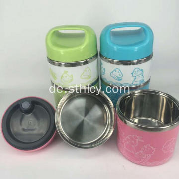 Isolierte Edelstahl-Food-Container-Set