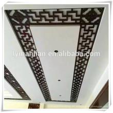 panel de rejilla de pared decorativo mdf