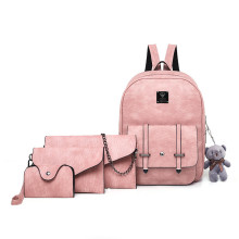 Fashion cute design double shoulder backpack for girl