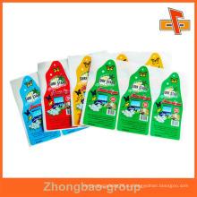Гуанчжоу производитель оптовая пользовательская самоклеящаяся несъёмная этикетка для упаковки замороженных продуктов